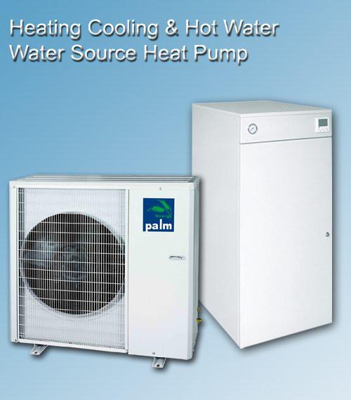 Triaqua all in one heat pumps combination 15KW