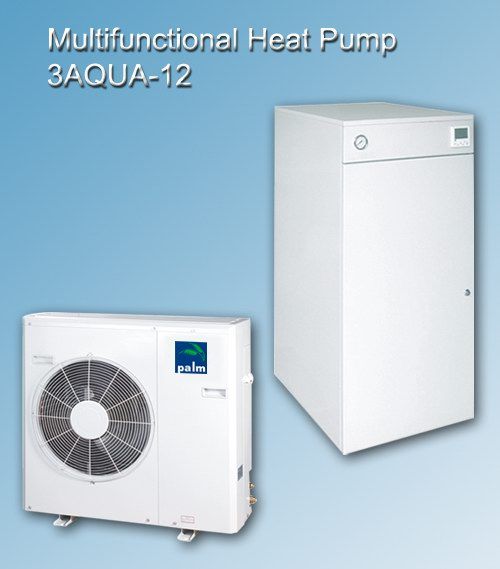 Triaqua Three in One Air to Water Heat Pumps-11KW