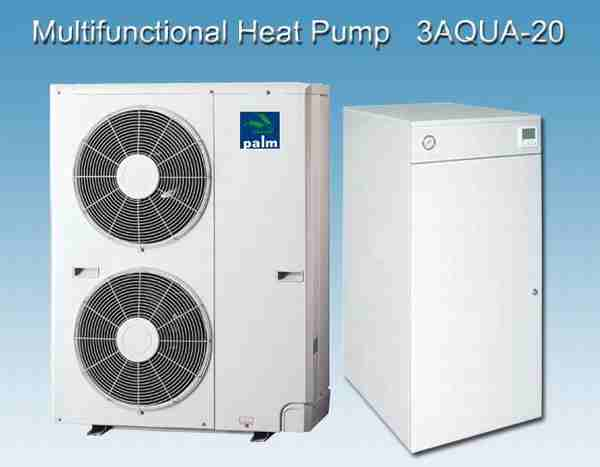Heating Cooling &DHW Smart Combination Heat Pump-20KW